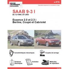 e-RTA SAAB 9-3 I Essence (12-1998 à 07-2003)