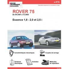 e-RTA ROVER 75 Essence (09-2001 à 12-2005)
