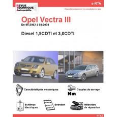 e-RTA Opel Vectra III Diesel (06-2002 à 08-2008)