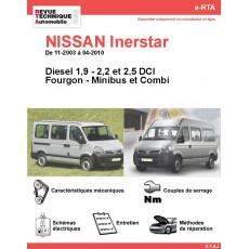 e-RTA NISSAN Inerstar Diesel (11-2003 à 04-2010)