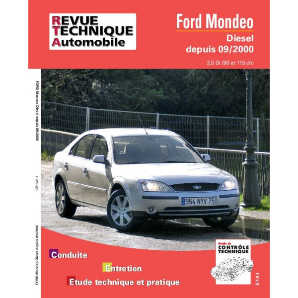 Revue Technique Ford mondeo 2