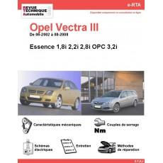 e-RTA Opel Vectra III Essence (06-2002 à 08-2008)
