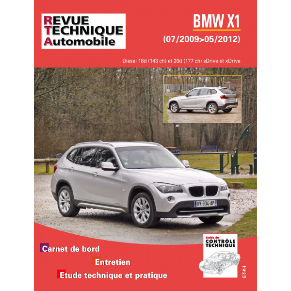 RTA B782 BMW X1 (E84) Ph.1 2009-07-2012-05