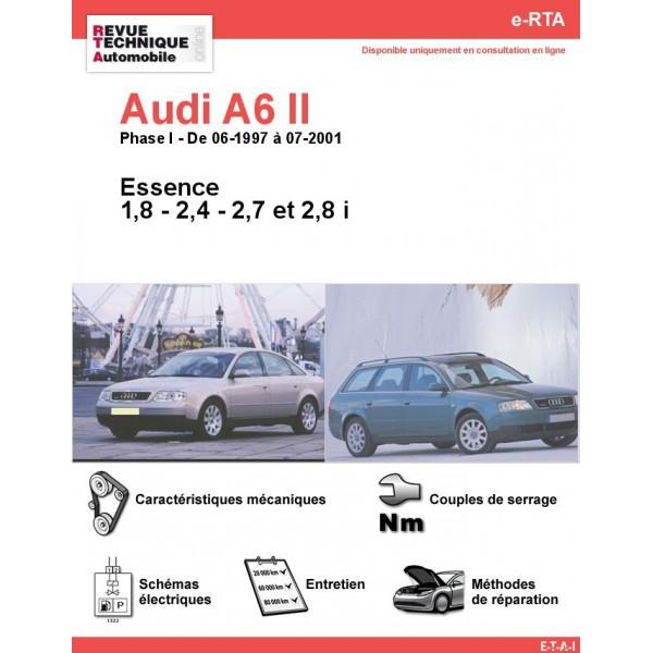 e-RTA Audi A6 II Essence (06-1997 à 07-2001)