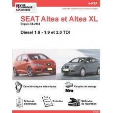 e-RTA SEAT Altea et Altea XL Diesel (Depuis 04-2004)