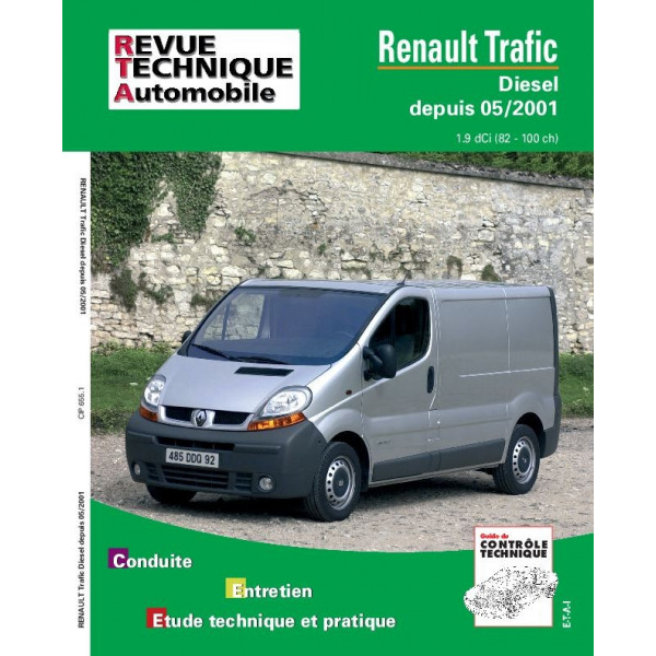 revue technique renault trafic d rta site officiel etai. Black Bedroom Furniture Sets. Home Design Ideas