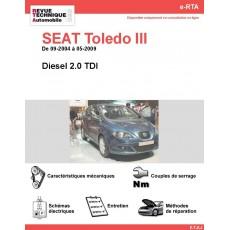 e-RTA SEAT Toledo III Diesel (09-2004 à 05-2009)