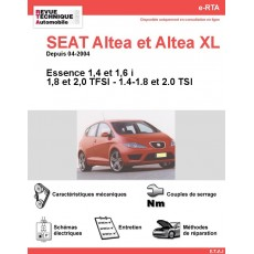 e-RTA SEAT Altea et Altea XL Essence (Depuis 04-2004)