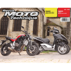RMT 175 Piaggio MP3 Yourban 300ie (2012 à 2014) et Yamaha MT07 (2014 et 2015)