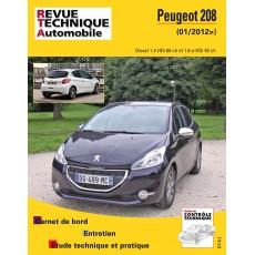 RTA B787.5 PEUGEOT 208 I PHASE 1 (2012 à 2015) - Diesel