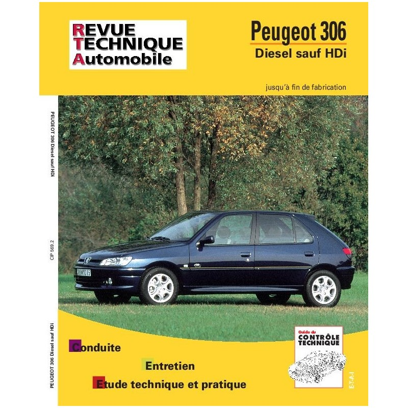 revue technique peugeot 306 d rta site officiel etai. Black Bedroom Furniture Sets. Home Design Ideas
