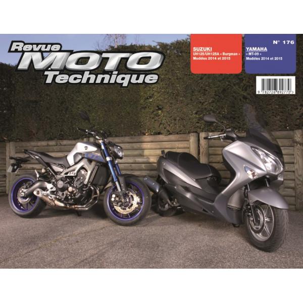 Revue Moto Technique Rmt 176 Suzuki Burgman 125 Et