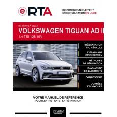 E-RTA Volkswagen Tiguan II BREAK 5 portes de 04/2016 à ce jour