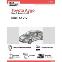 e-RTA Toyota Aygo Diesel (Depuis 01-2009)