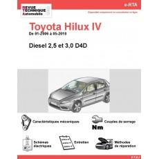 e-RTA Toyota HILUX IV Diesel (01-2006 à 05-2010)