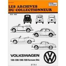 VOLKSWAGEN 1100 1200 1300 1500 Karmann Ghia - Les Archives du Collectionneur n°20