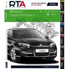 RTA B796 Renault Laguna III ph2 1.5dCi 110ch 11/2010