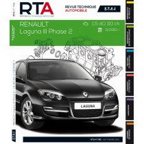 RTA B796 Renault LagunaIII ph2 1.5dCi 110ch 11/2010