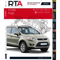 Ford Kuga I (03/2008 à 12/2012) 2.0TDCI 136ch