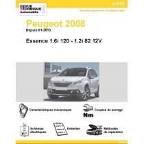 e-RTA Peugeot 2008 Essence (Depuis 01-2013)