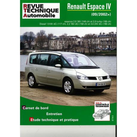 TAP N° 419 RENAULT ESPACE IV