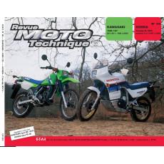 "RMT PDF KAWASAKI ""KMX 125"" et HONDA Transalp ""XL 600 V"""