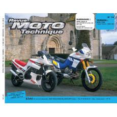 """RMT PDF KAWAZAKI """"GPZ 500 S (1987 -1990) et YAMAHA """"XTZ 750 Super Ténéré"""" (1989-1990)"""