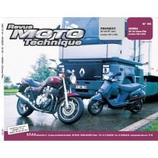 "RMT PDF PEUGEOT SV125 et 125L (1991 - 1995) et HONDA CB750 ""Seven Fifty"" (1992-2000)"