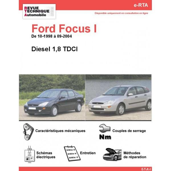 e-RTA Ford Focus I 1,8 TDCI