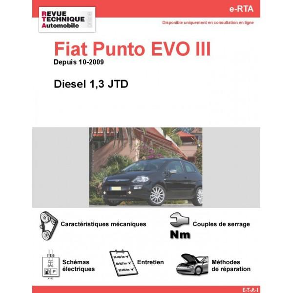e-RTA Fiat Punto EVO 1,3 JTD