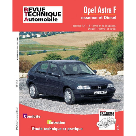 RTA 547.1 OPEL ASTRA F ESSENCE ET DIESEL 92-93