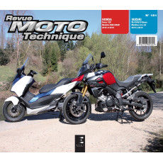RMT 181 Forza 125 (2015 à 2016) + Suzuki V-Strom 1000 (2014 à 2016)