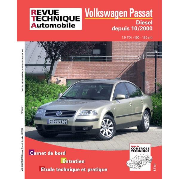 Revue Technique Volswagen passat 2000