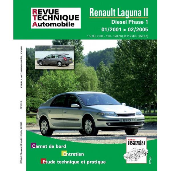 Revue Technique Renault laguna 2