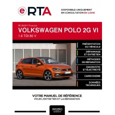 E-RTA Volkswagen Polo VI HAYON 5 portes de 09/2017 à ce jour