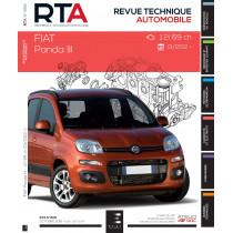 RTA 808 FIAT PANDA III : 1.2i (69 ch) (depuis 01/2012)
