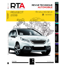 RTA 809 - Peugeot 2008 - 1.6 HDI (92 ch) (depuis 01/2013)