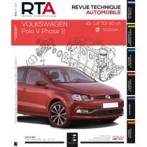 RTA 807 POLO V Ph.2 - 1.4 TDI (90 ch) depuis 02/2014