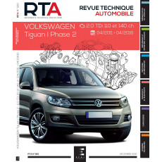 RTA 810 VOLKSWAGEN TIGUAN 1 Ph.2 - 2.0TDI (110&140ch) depuis 04/2011