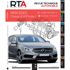 RTA 811 - Mercedes Classe A III Ph.1 (06/2012 à 06/2015) 1.5cdi