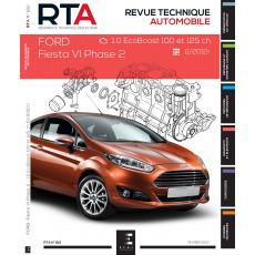 RTA 812 FORD FIESTA VI PHASE 2 (2012 à 2017)