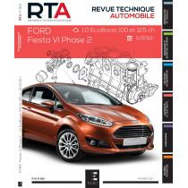 RTA 812 -  FORD FIESTA VI Ph.2 - 1.0i (100ch) (à partir du 11/2012)