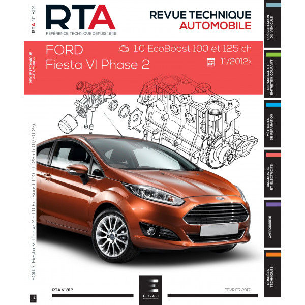 revue technique auto ford fiesta vi v2 editions etai. Black Bedroom Furniture Sets. Home Design Ideas