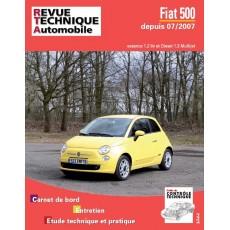 RTA B729.5 FIAT 500II - Version numérique