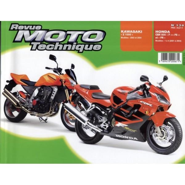 Revue Technique Rmt Honda cbr600 f/fs et Kawasaki z1000