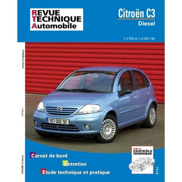 Revue Technique Citroen c3 diesel