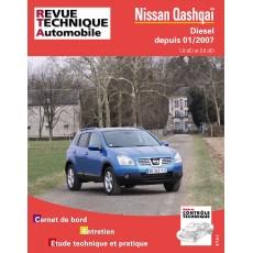 RTA B741 NISSAN QASHQAI - Version numérique