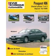 RTA 589.3 PEUGEOT 406 D/TD - Version numérique