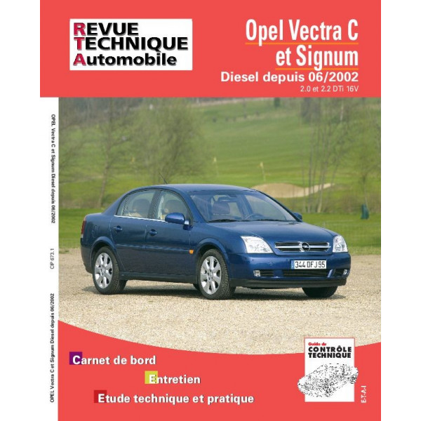 Revue Technique Opel vectra c