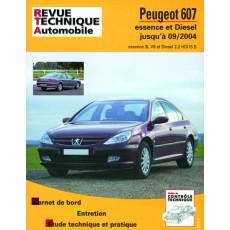 RTA B708.5 PEUGEOT 607 E/D - Version numérique